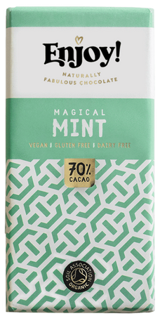 Enjoy! Magical Mint 70% Chocolate Bar 70g
