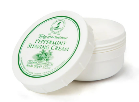 Taylor of Old Bond Street Peppermint Shaving Cream Bowl 150g