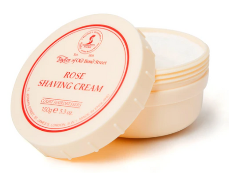 Taylor of Old Bond Street Rose Shaving Cream Bowl 150g