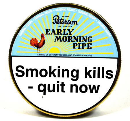 Peterson Early Morning Pipe Tobacco 50g Tin