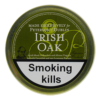 Peterson Irish Oak Pipe Tobacco 50g Tin