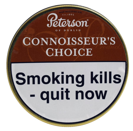 Peterson Connoisseurs Choice Pipe Tobacco 50g Tin
