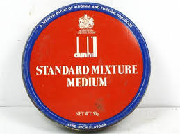 Dunhill Standard Mixture Medium Pipe Tobacco 50g Tin