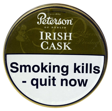 Peterson Irish Cask Pipe Tobacco 50g Tin