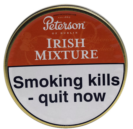 Peterson Irish Mixture Pipe Tobacco 50g Tin