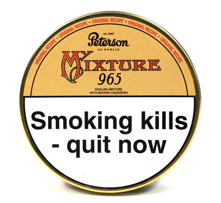 Peterson Mixture 965 Pipe Tobacco 50g Tin