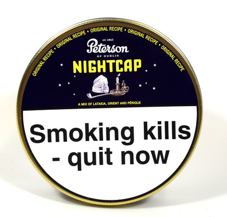 Peterson Nightcap Pipe Tobacco 50g Tin