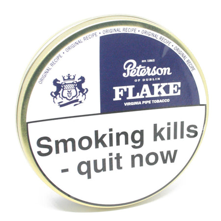 Peterson Dunhill Flake Virginia Pipe Tobacco 50g Tin