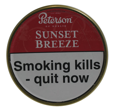 Peterson Sunset Breeze Pipe Tobacco 50g Tin