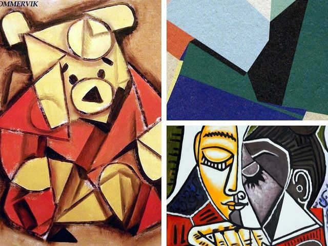 abstract art jamming ideas cubism