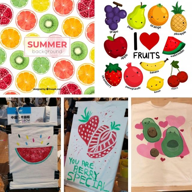 art jamming ideas fruits and vegetables veggies
