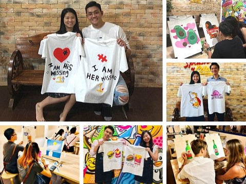 art jamming with a twist for couples gallery