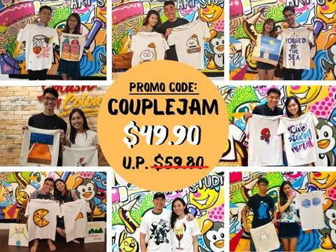 art jamming with a twist for couples promo code couplejam