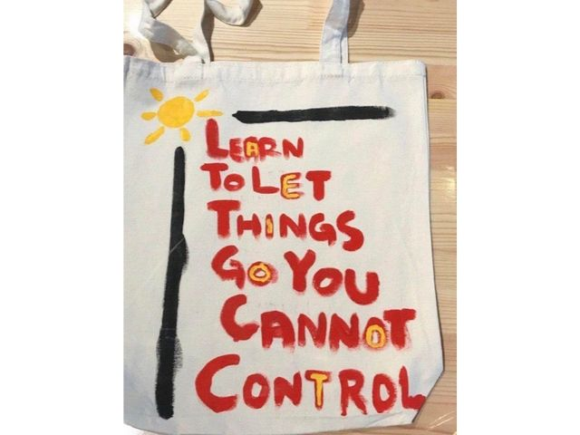inspirational quotes art jamming ideas Let go of things you cannot control