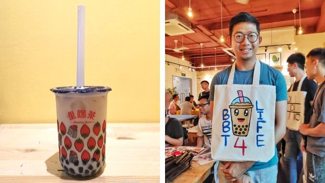 uniquely singapore sg art jamming ideas bubble milk tea boba