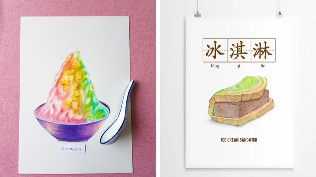 uniquely singapore sg art jamming ideas desserts ice kacang ice cream sandwich