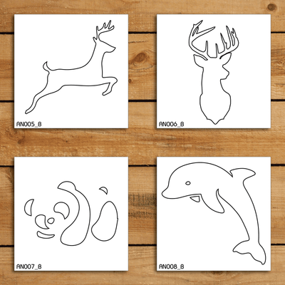 Animals Stencil Set