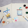 Bobabuddies Couple Tote Bag Painting Kit