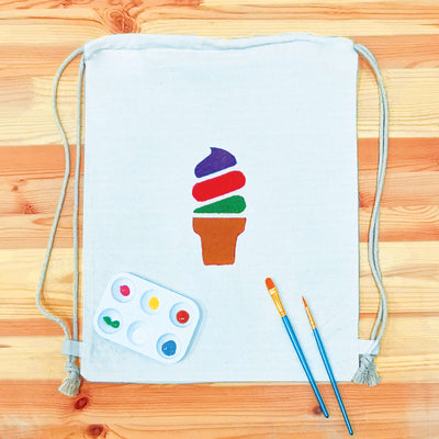 DIY Kids Drawstring Painting Gift Set