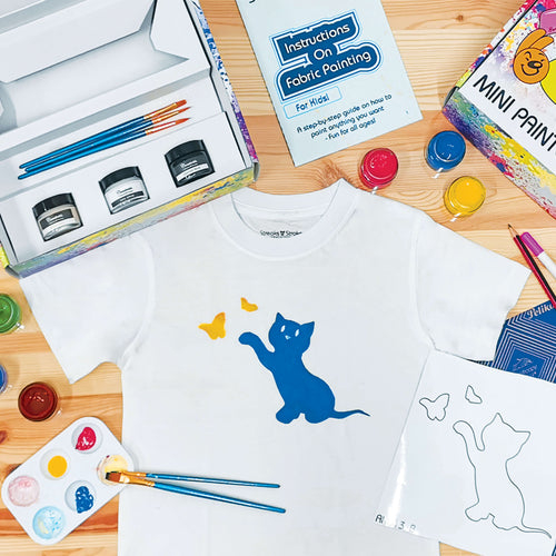 DIY Kids T-Shirt Painting Kit