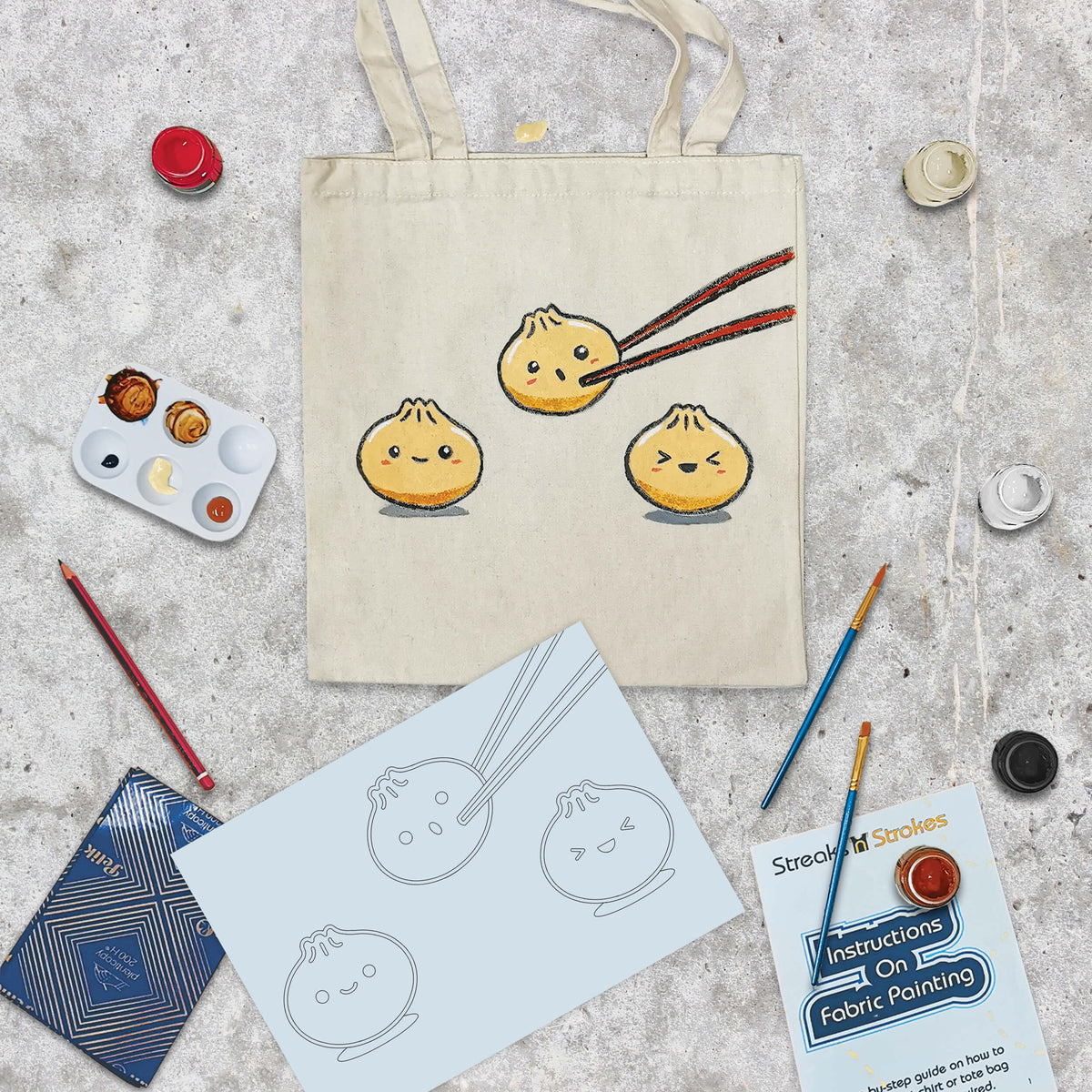 Dumpling Dudes Tote Bag Corporate Pack