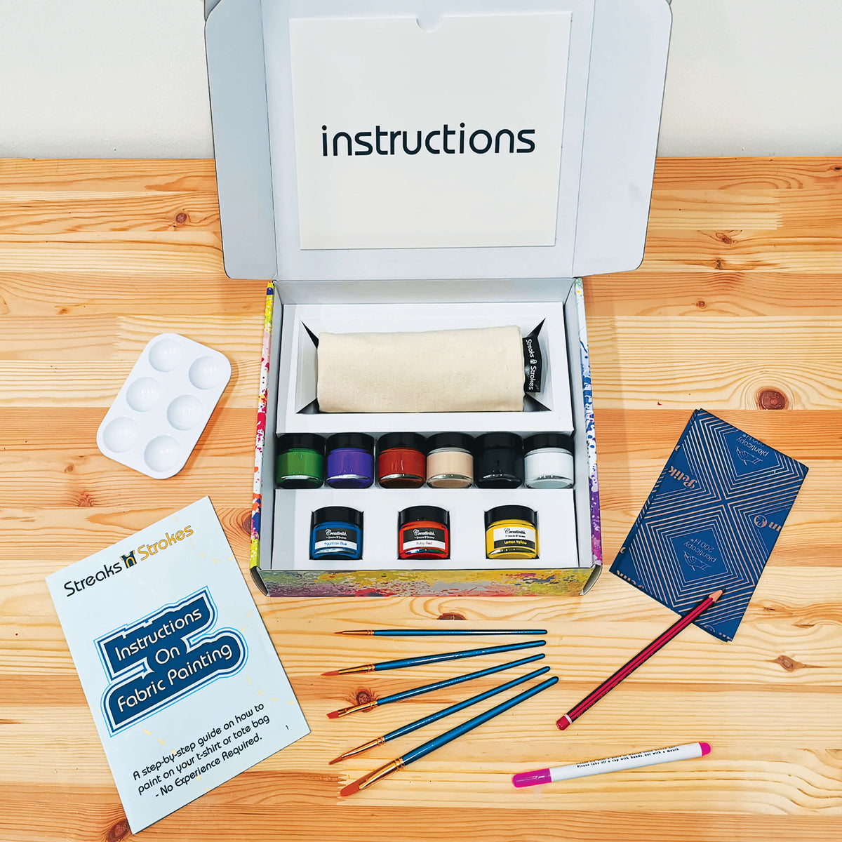 DIY Tote Bag Painting Kit