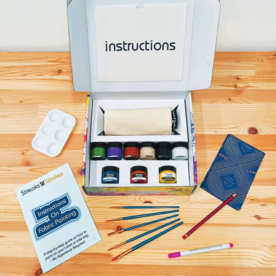 DIY Tote Bag Painting Gift Set