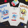 Shark Family of 3 T-Shirt Painting Kit