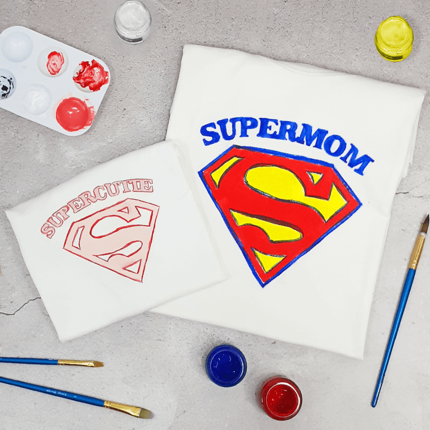 Superfamily of 2 T-Shirt Painting Kit