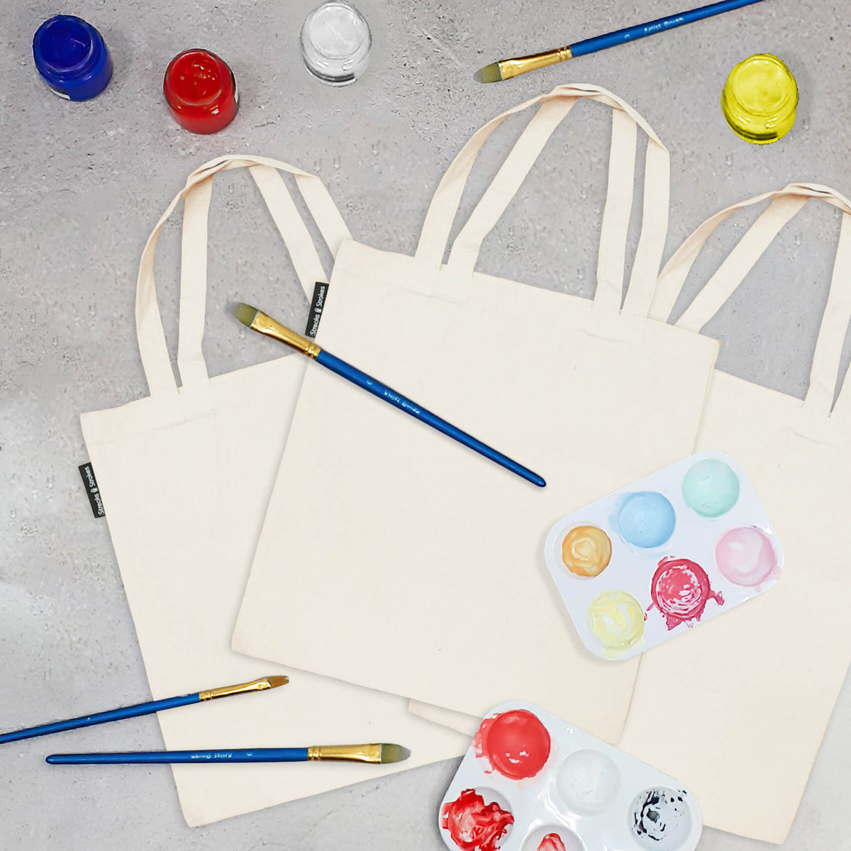 Tote Bag Painting For 3 Economical Set
