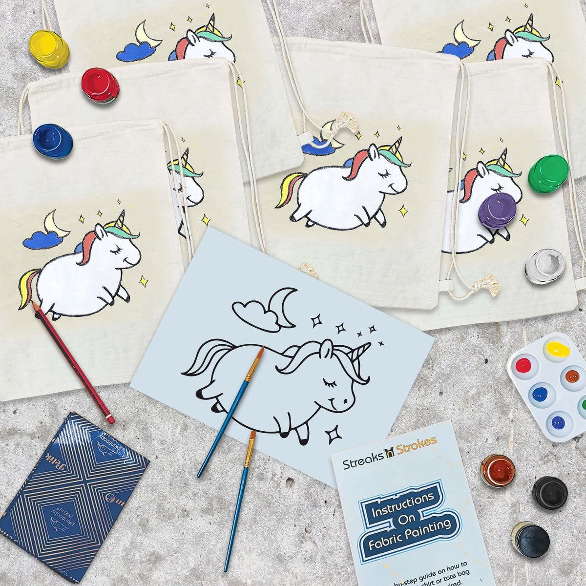 Unicorn Kids Party Pack