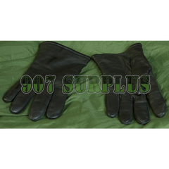 Black Leather Dress Gloves