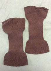 Knit Wool Cuffs