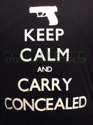Keep Calm and Carry Concealed