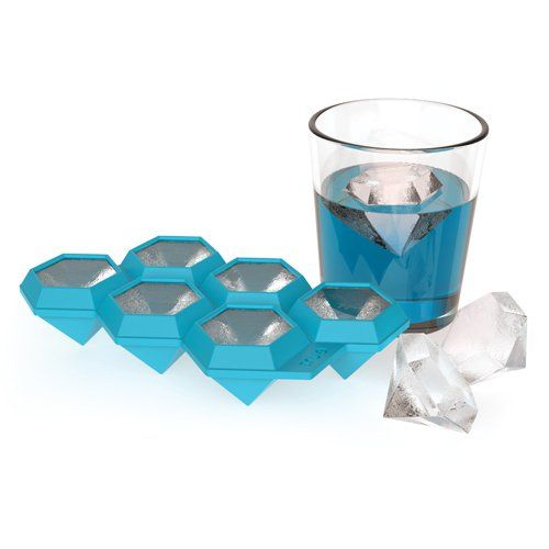 Iced Out Diamond Ice Cube Tray by TrueZoo