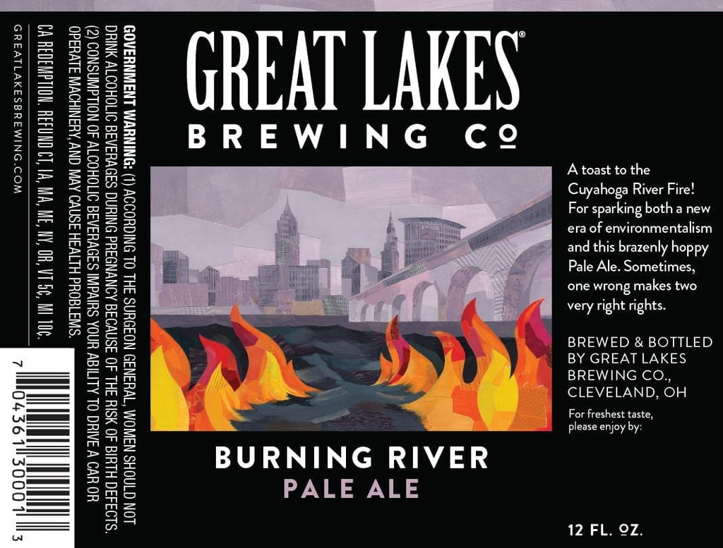 Great Lakes Burning River 6pk Bottles