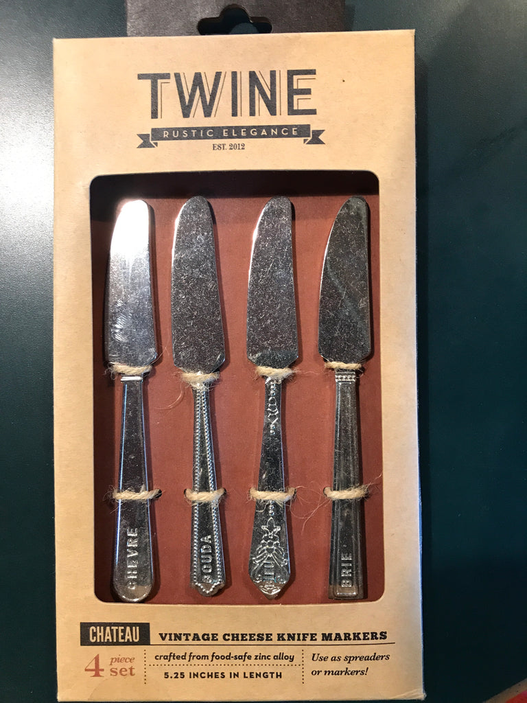 Twine Vintage Cheese Knife Marker