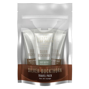 Scottish Fine Soaps Silver Buckthorn Travel Pack (3 x 75ml)