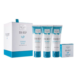 Scottish Fine Soaps Sea Kelp Luxurious Gift Set Drum