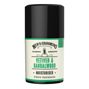 Scottish Fine Soaps Vetiver & Sandalwood Moisturiser (50ml)