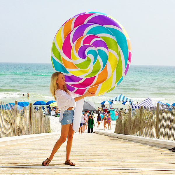 Giant Lollipop Float