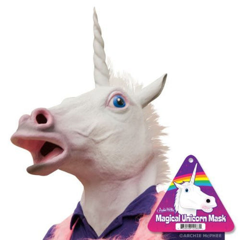 Crazy Unicorn Head Mask