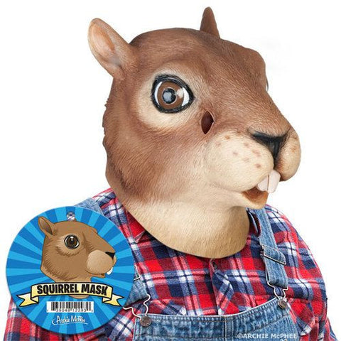 Crazy Squirrel Head Mask