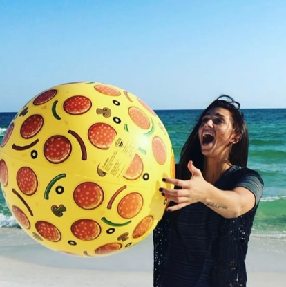 Pizza Beach Ball