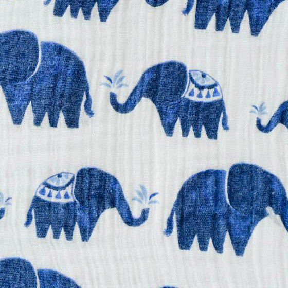 Swaddle Blanket - Indie Elephants