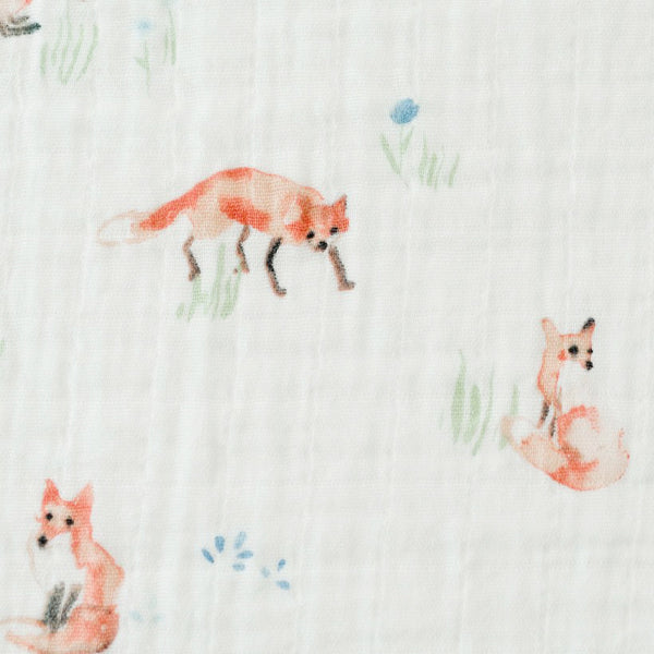 Swaddle Blanket - Foxes
