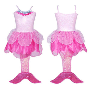 Mermaid Costume - Pink
