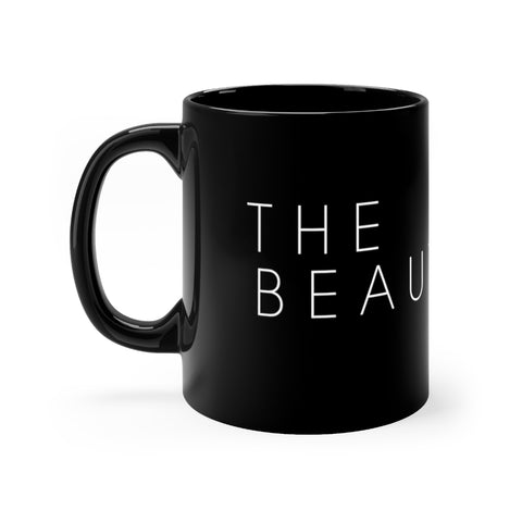 T.B.F Black & White Coffee Mug 11oz