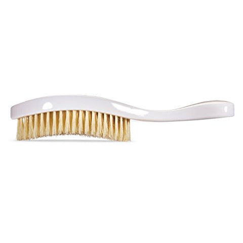 Torino Pro Wave Brush #640 By Brush King - Soft Curve 360 Waves Brush - Soft Wave Brush - Made with 100% Boar Bristles - True Texture Soft - Great for Polishing/Laying Down Frizz & Finisher