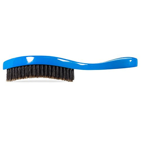 Torino Pro Wave brush #350 by Brush King - Medium Curve Waves Brush - Made with 100% Boar Bristles -True Texture Medium - All Purpose 360 Waves Brush
